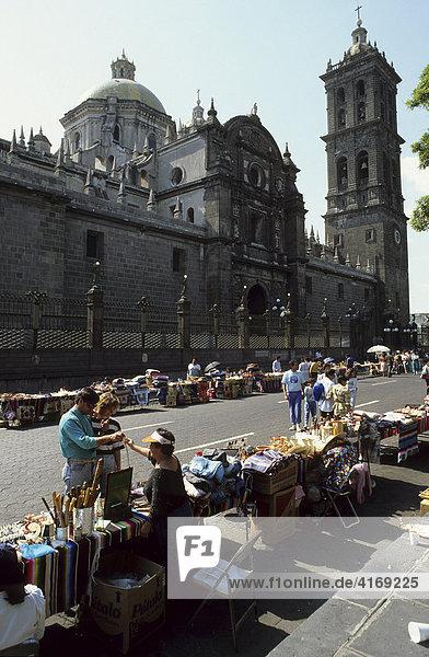 Mexiko Puebla Kathedrale