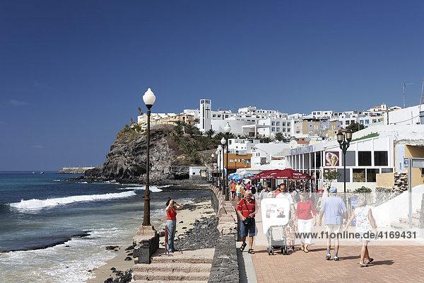 Promenade in Morro Jable   Jandia   Fuerteventura   Kanarische Inseln