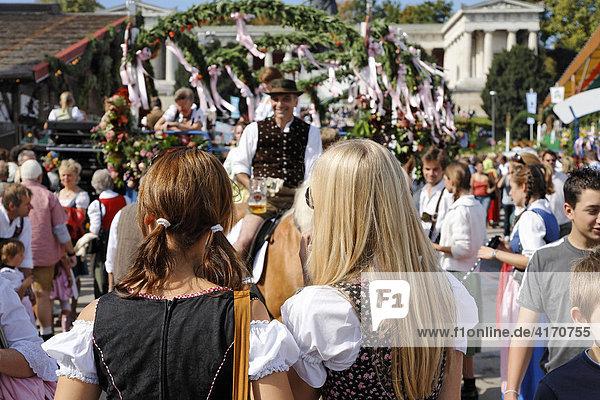 Oktoberfest München  Bayern