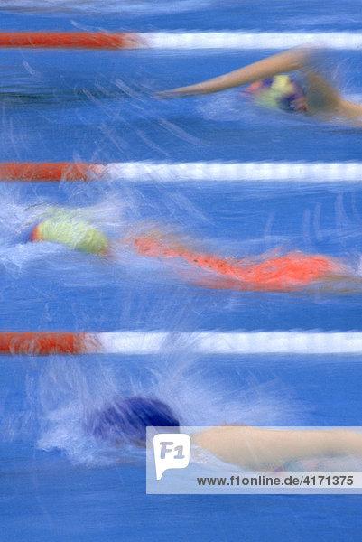 Schwimmen Kraul