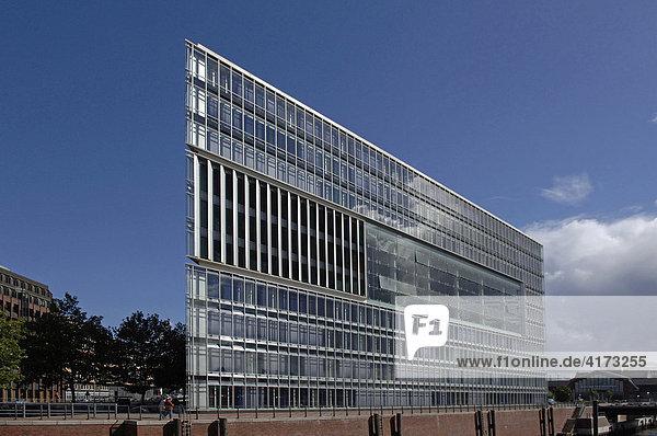 Deichtorcenter  modernes Bürogebäude in Hamburg  Deutschland  Europa