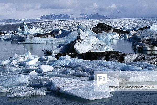Gletschersee  Jökulsarlon  Island