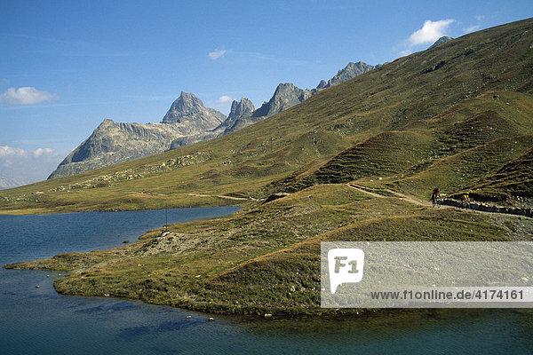 Konstanzer Hütte  Schönverwalltal  Tirol  Österreich