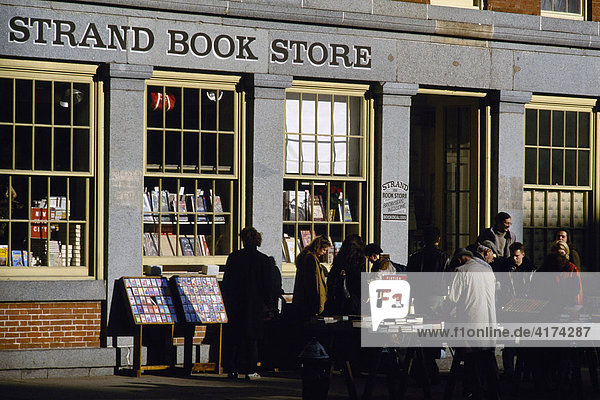 Bookstore  Strand  Manhattan  New York  USA