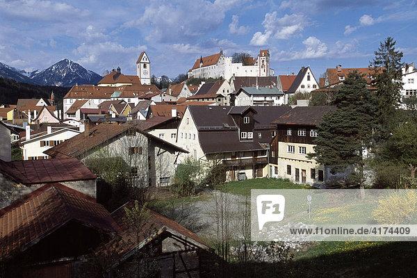 Füssen  Allgäu  Bayern  Deutschland