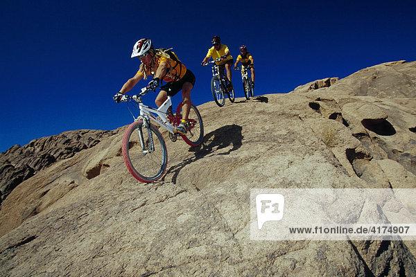 Mountainbiker  Sinai  Ägypten