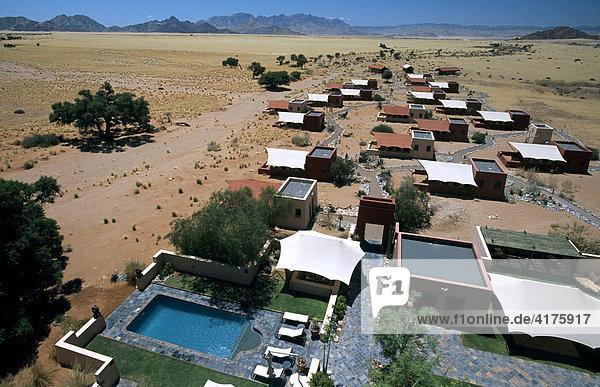 Sossusvlei Lodge  Namib Naukluft Park  Namibia  Afrika