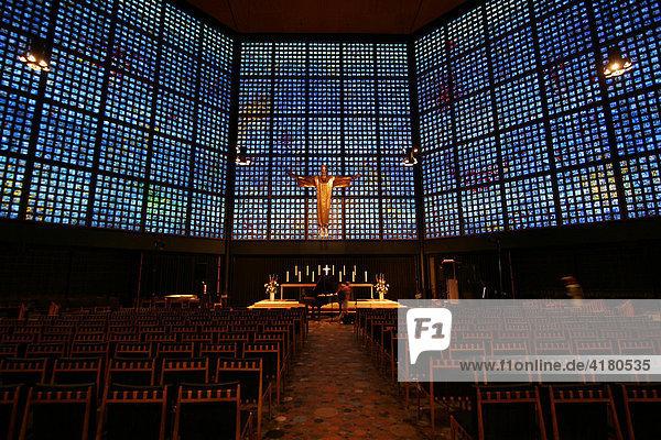 Neue Kirche an der Kaiser Wilhelm Gedächtniskirche Bundeshauptstadt Berlin - Deutschland