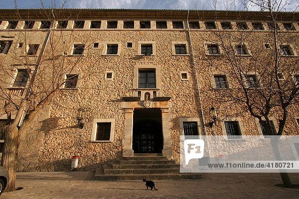 Kloster Lluc auf Mallorca Spanien Europa