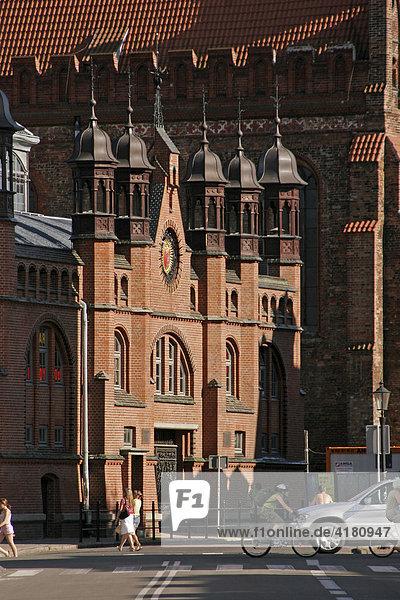 Die Markthalle / Hala Targowa in der Altstadt von Danzig/Gdansk  Polen  Europa