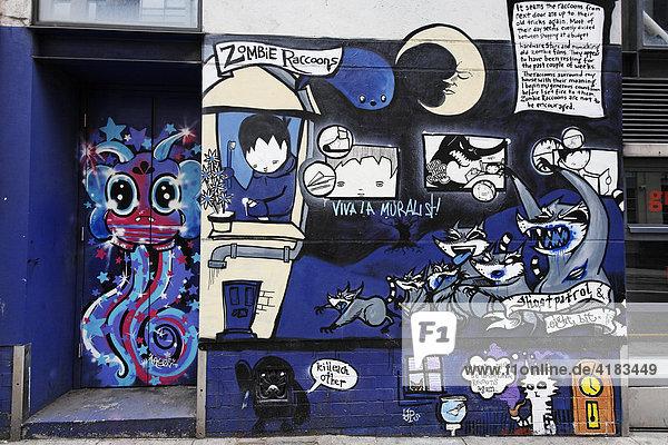 Graffiti in Manchester  England