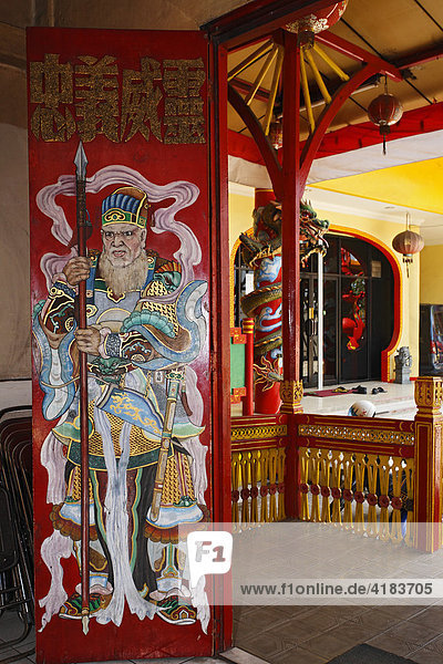 Chinese temple in Banjarmasin  Borneo  South-Kalimantan  Indonesia