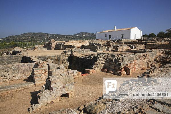 Roman ruins of Milreu near Estoi,  Algarve,  Portugal, Roman ruins of Milreu near Estoi,  Algarve,  Portugal