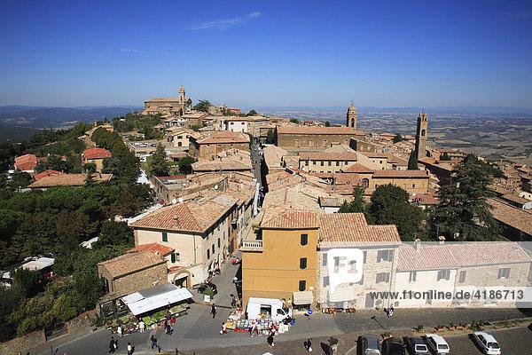 Montalcino  Provinz Siena  Toskana  Italien
