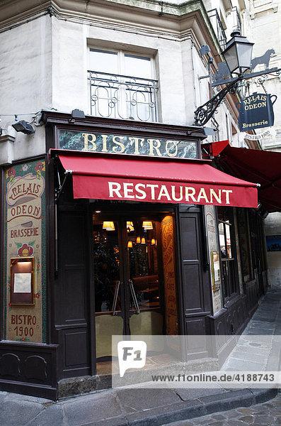 Bistro Restaurant 1900 am Place de l'Odeon (Hinterhof)  PARIS  FRANKREICH