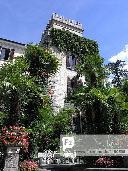 Hotel Castello Seeschloss Ascona Tessin Schweiz