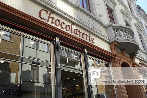 Chocolaterie  Hauptstraße  Heidelberg  Baden Württemberg  Deutschland