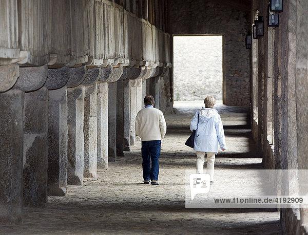 The Lluc Monastery  Majorca  Balearics  Spain