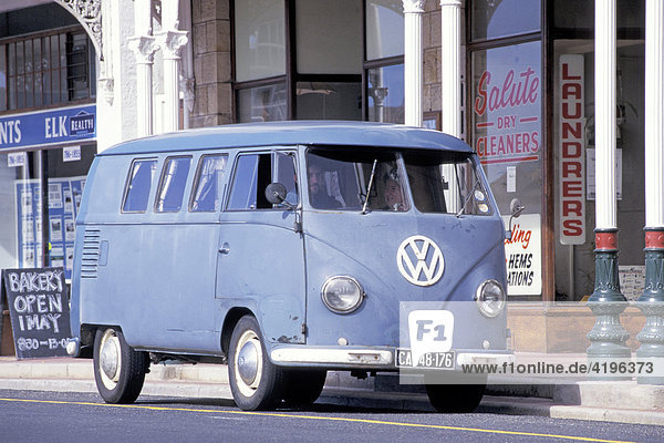 Alter VW Bus Kapstadt Suedafrika Alter VW Bus Kapstadt Suedafrika
