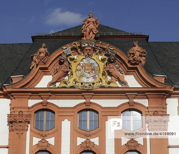 Dikasterialgebäude in Koblenz  Rheinland-Pfalz  Deutschland Dikasterialgebäude in Koblenz, Rheinland-Pfalz, Deutschland