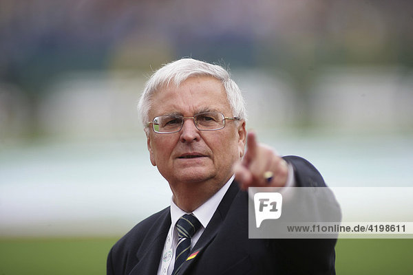 President of the German Football Association Dr. Theo Zwanziger