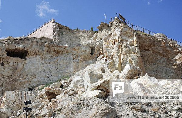 Stone-avalanche Ürgüp Cappadocia Turkey Türkei