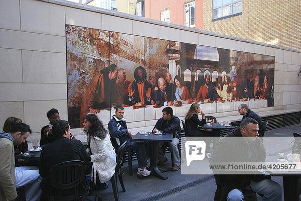 Cafe Cogliostro in der Jervis Straße   Dublin   Leinster   Irland   Europa