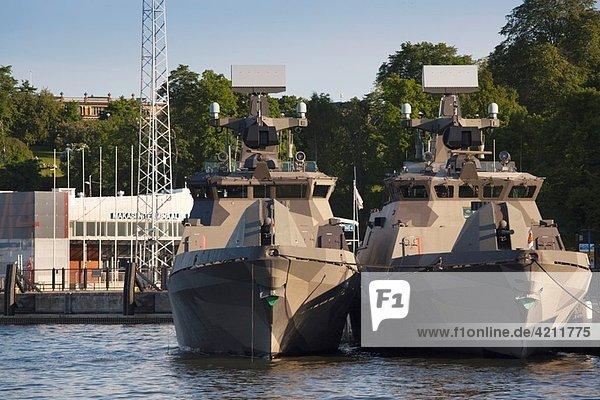 Finland  Helsinki  Helsinki Harbor  Finnish Navy patrol boats