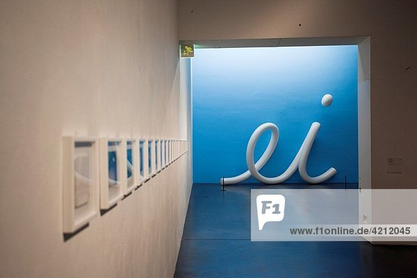 Finland  Helsinki  Museum of Contemporary Art Kiasma  Ei No by Pekka Syrjala