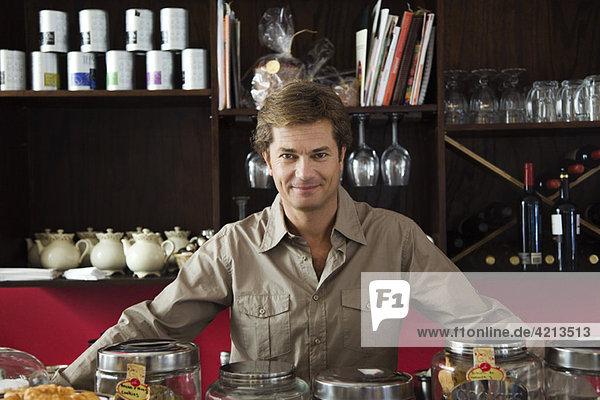 Cafébesitzer  Porträt