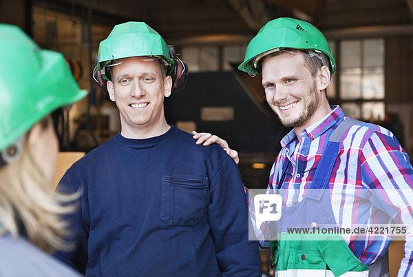 Drei Industriearbeiter, Drei Industriearbeiter
