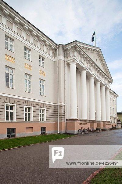 Estonia  Southeastern Estonia  Tartu  Tartu University Building