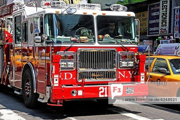 Fire Truck  New York  USA