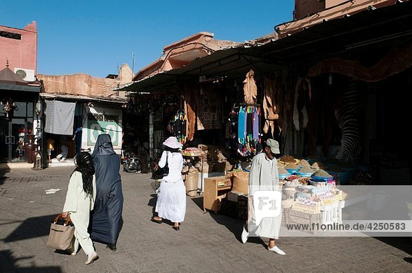 Medina Souk  Marrakech  Morocco