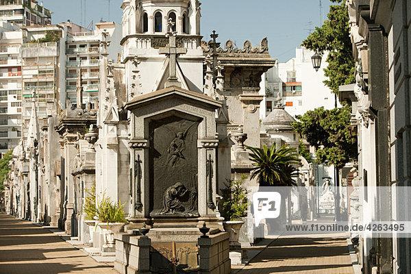 Recoleta Friedhof  Buenos Aires  Argentinien