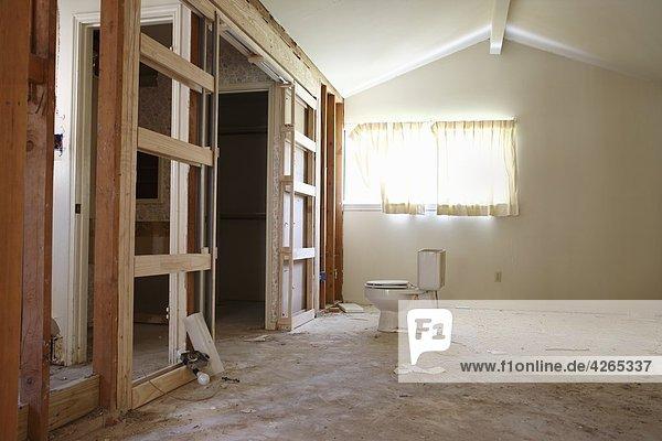 Wand Renovierung Interior zu Hause zu Hause