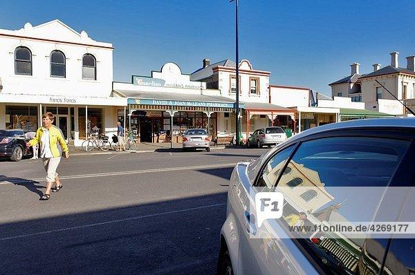 Port Fairy coastal town  Victoria  Australia