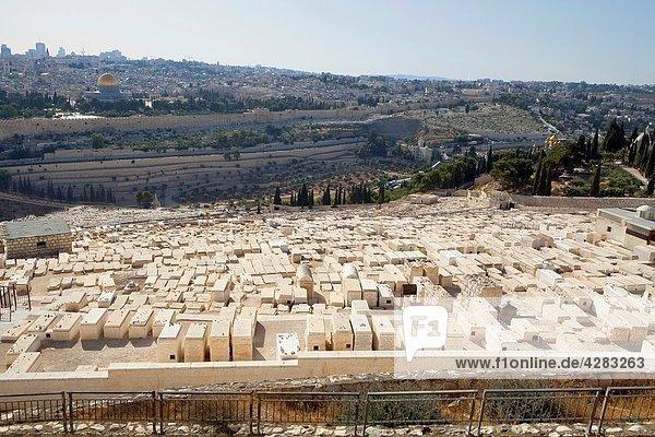 Old Jewish cemetery  Mount of Olives  Jerusalem