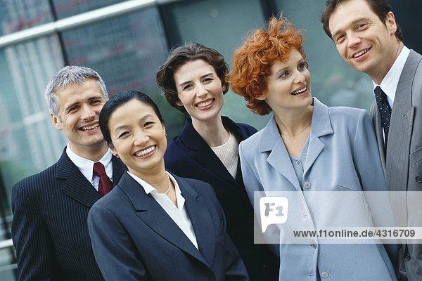 Gruppe von Führungskräften  Porträt