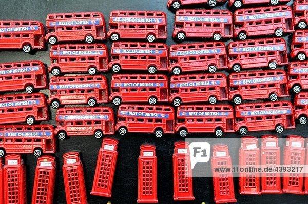 London-Andenken  Magnete  London. Großbritannien.