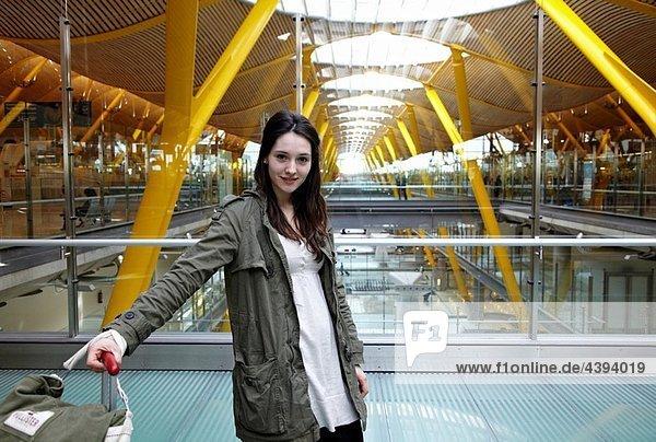 Terminal T4  Aeropuerto de Barajas  Madrid  Spain.