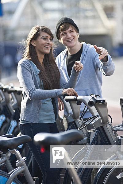 jung  Fahrrad  Rad