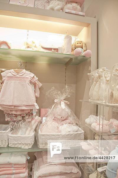 Geschenk Madrid Hauptstadt Frau Kleidung Laden Baby