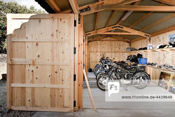 Garage Motorrad Kollektion