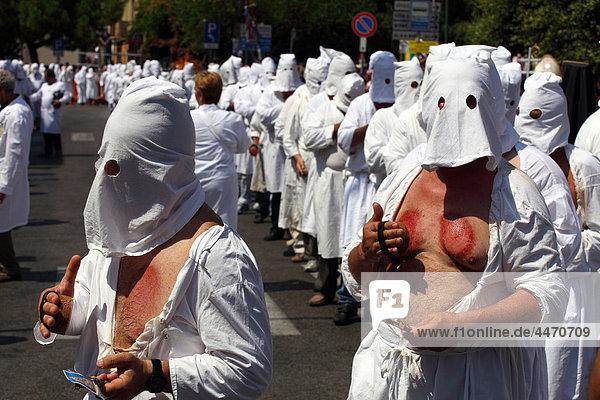 Tradition Fest festlich Kampanien Italien
