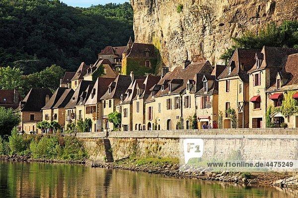 France  Dordogne  La Roque-Gageac in Dordogne Valley