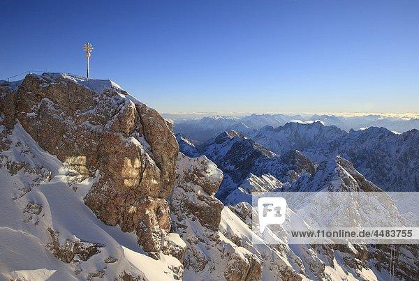 Karwendelgebirge und Wettersteingebirge  Bayern  Deutschland  Europa Karwendelgebirge und Wettersteingebirge, Bayern, Deutschland, Europa