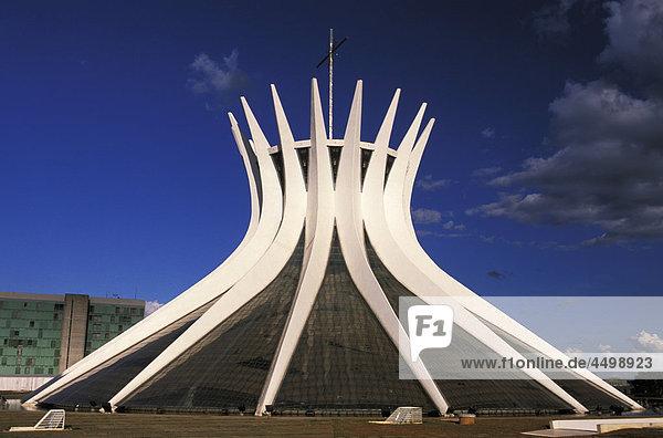 Kathedrale  Brasilia  Brasilien  Südamerika  Dach  Architektur