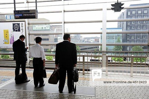 Railway station  Kyoto  Japan.