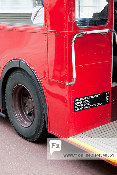 Roter Bus  London
